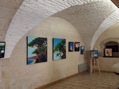 Exposition au caveau des arts à Ornans 2018