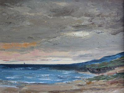 La plage de St Aubin