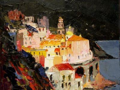 Amalfi avant l'orage